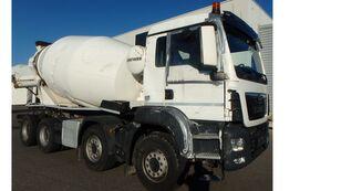 Liebherr HTM 1005F  en el chasis MAN TGS 41-420 8x4  Betonnmischer Liebherr HTM 1005F  Unfallschaden camión hormigonera