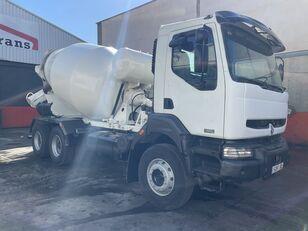 Baryval  en el chasis RENAULT 320 camión hormigonera