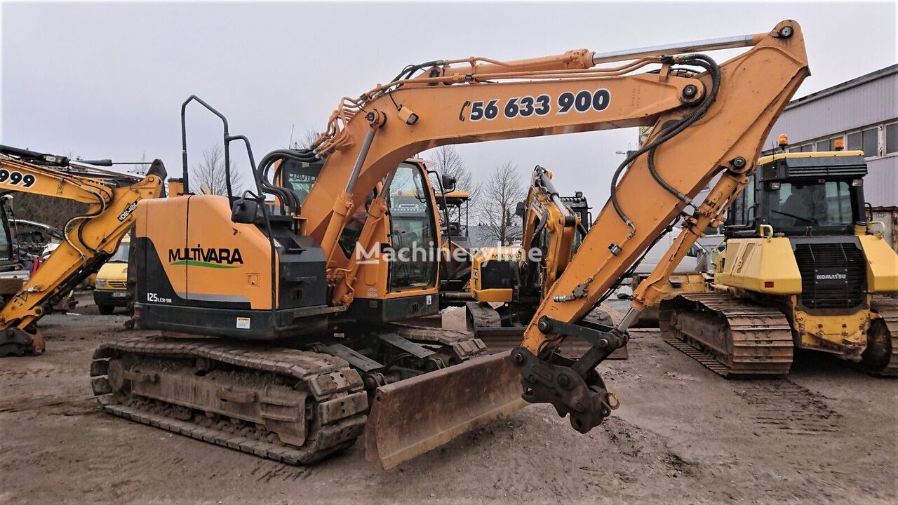 HYUNDAI R125 excavadora de cadenas