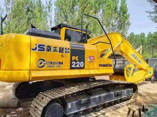 KOMATSU USED  KOMATSU  PC220-8  JAPAN  CRAWLER  EXCAVATOR excavadora de rueda de cangilones