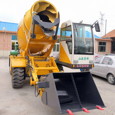LUZUN selfloading concrete mixer excavadora de ruedas nueva