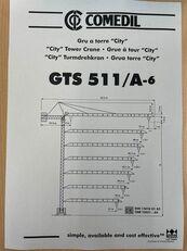 COMEDIL GTS 511 grúa torre