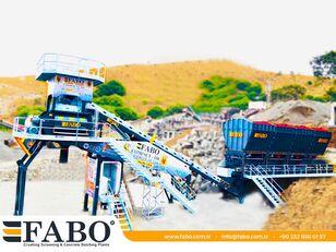FABO MIX COMPACT-110 CONCRETE PLANT   CONVEYOR TYPE planta de hormigón nueva
