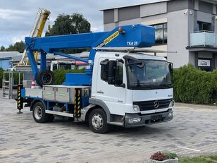 MERCEDES-BENZ Palfinger Bison TK 28 plataforma sobre camión